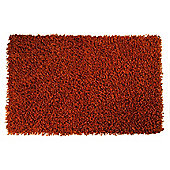 Tesco Rugs orbit shaggy 150x240cm burnt orange