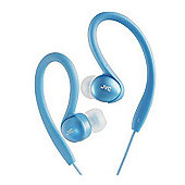 JVC HAEBX5AN Splash Proof Sports Headphone - Blue