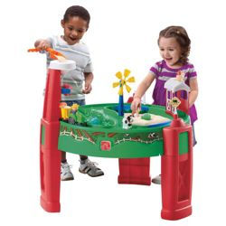 Step2 Sand & Water Fun Farm Play Table