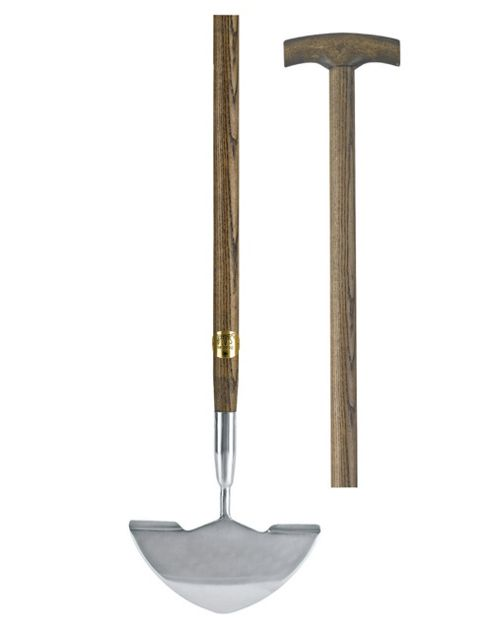 Dobbies Select Wood & Stainless Steel Lawn Edger