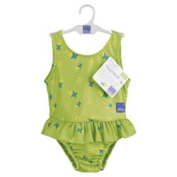 Bambino Mio Swim Nappy/Swim Suit - Lime fish X Large