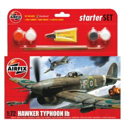 Airfix Typhoon 1:72 Scale Cat 1 Gift Set