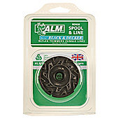 ALM Filled Spool for Black & Decker single line Reflex Grass Trimmers, 2 pack