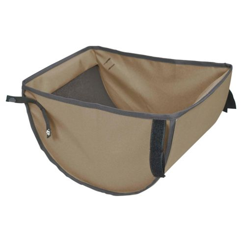 Out 'n' About Single Storage Pushchair Basket 360, Camel