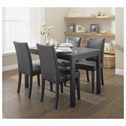 Banbury 4 Seat Set, Black