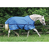 Masta Zing Lightweight Horse Turnout Rug - Ocean Blue 6ft3