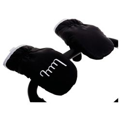 Mummy Mitts, Black and Grey
