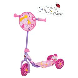 Ben & Holly 3-Wheel Tri Scooter