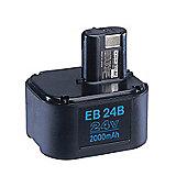 Hitachi EB 24B Battery 24 Volt 2.0Ah NiCd