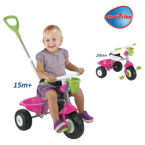 Smart-Trike Cupcake, Pink/Green/White