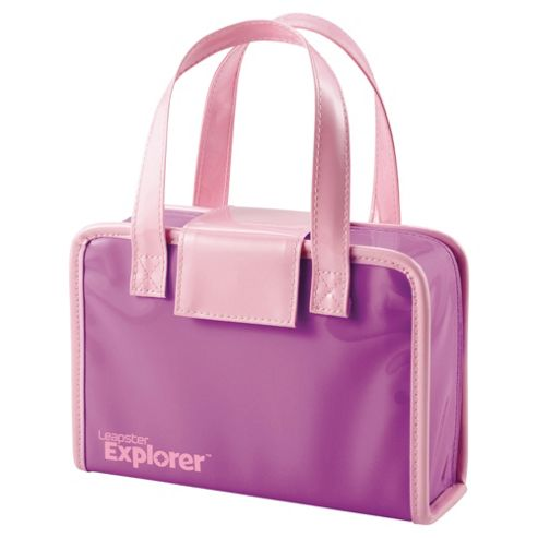 Leapfrog Leapster Leappad Explorer Tablelt Carry Case Bag Holder Pink