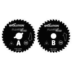 Evolution RAGE Twin 125mm TCT Blades (Orange)