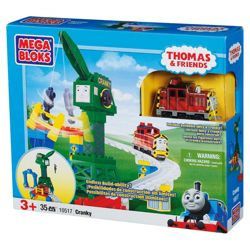 Mega Bloks Thomas & Friends Cranky The Crane