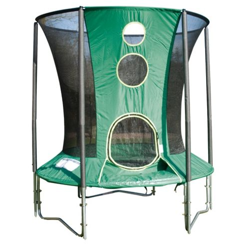TP Toys 6ft Activo Trampoline & Enclosure - Exclusive to Tesco