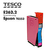 Tesco T0553 Magenta Printer Ink Cartridge (for Epson T 0553 Magenta )