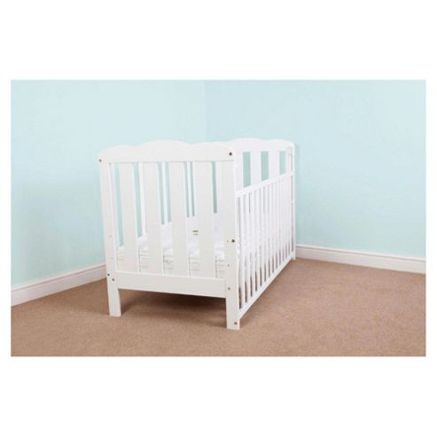 Saplings Kerry Cot Bed, White