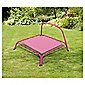 Tesco Out There Junior Rectangular Trampoline with Handle, Pink