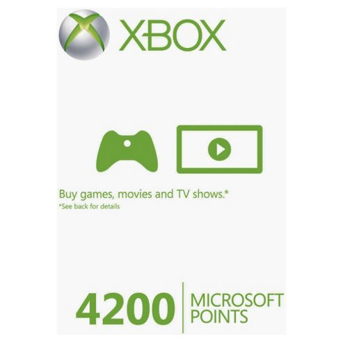 Xbox Live - 4200 Microsoft Points.