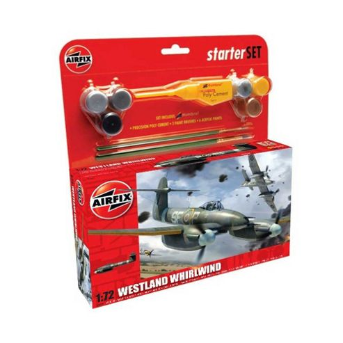 Airfix Westland Whirlwind 1:72 Scale Cat 2 Gift Set