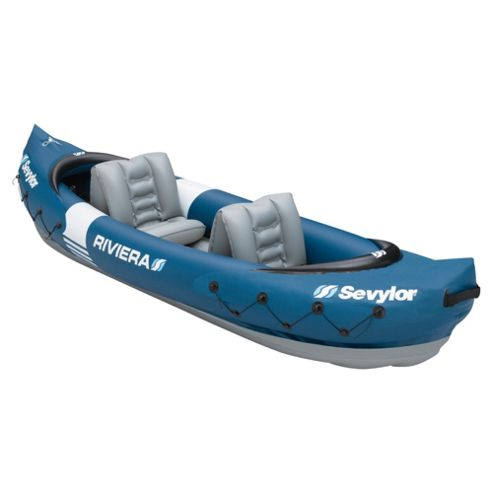 Sevylor Riviera 2 Man Kayak With Paddle
