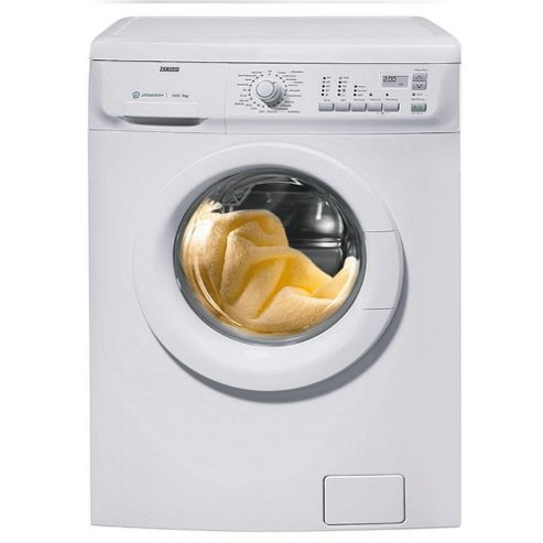 Zanussi ZWJ12591W Washing Machine, 8kg Wash Load, 1200 RPM Spin, A++ Energy Rating. White