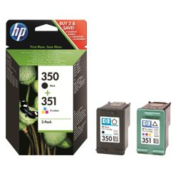 HP 350 / HP 351 Black & Colour Combo printer ink cartridge