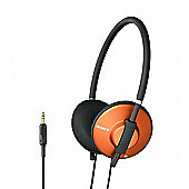 Sony Funky Metallic Classic Headphones for Intense Style - Orange