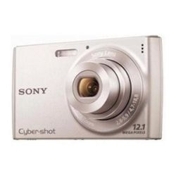Sony DSCW510 Cyber-shot Digital Still Camera - Silver (12.1MP, 4x Optical Zoom) 2.7 inch LCD