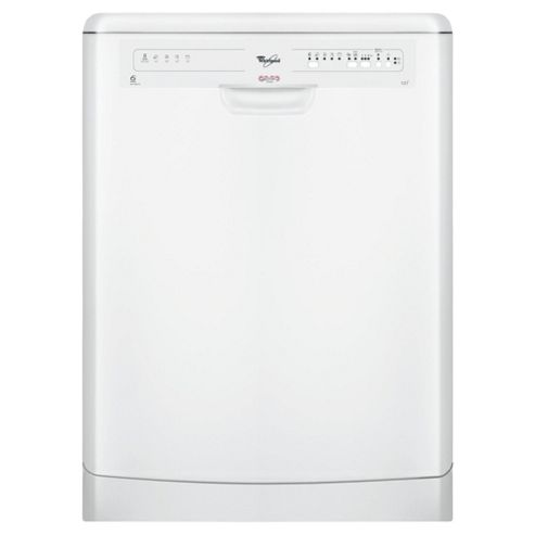 Whirlpool ADP5600WH Full Size Dishwasher, A Energy Rating. White