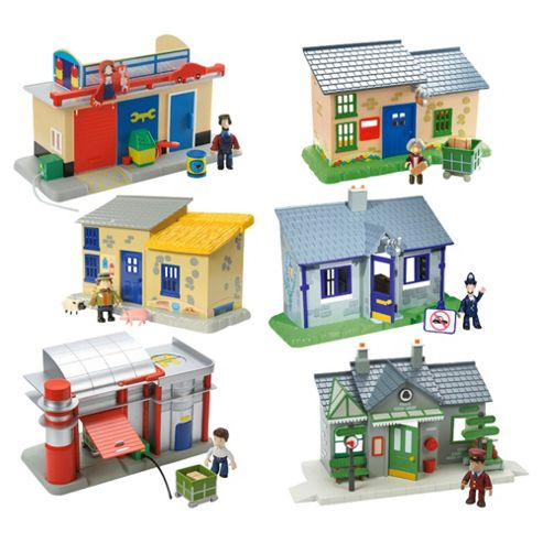 Postman Pat Mini Playset with Figure- Assortment – Colours & Styles May Vary