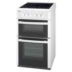 Beko DVC563W White Electric Ceramic Double Oven