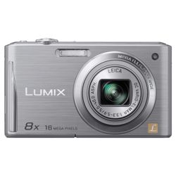Panasonic Lumix FS37 Digital Camera - Silver (16.1MP, 8x Optical Zoom) 3 inch Touchscreen LCD