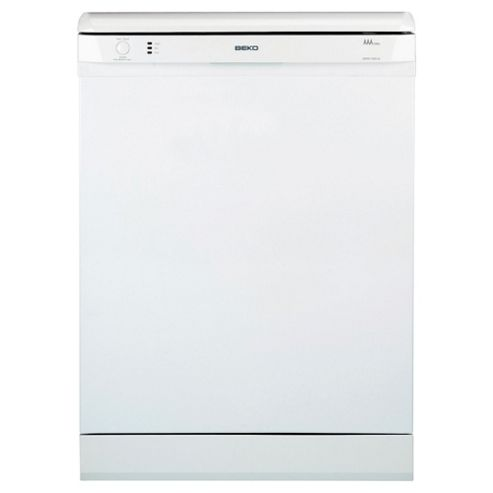 Beko DSFN1530W Full Size Dishwasher, A Energy Rating. White