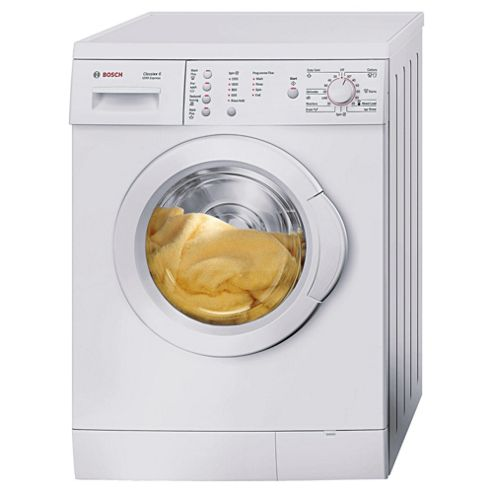 Bosch WAE24166GB Washing Machine, 6kg Wash Load, 1200 RPM Spin, A Energy Rating. White