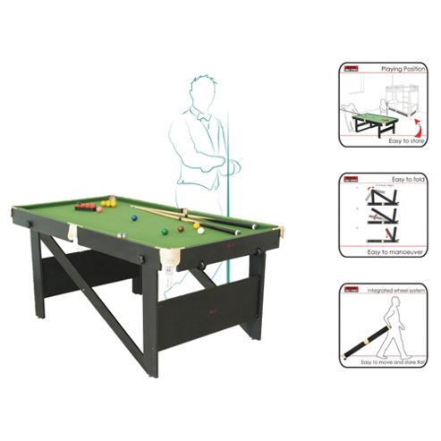 BCE 5ft Rolling, Lay Flat Snooker Table