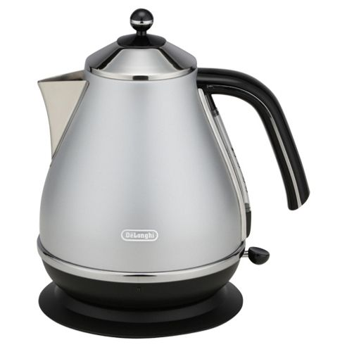 De'Longhi KBO3001 Brushed Stainless Steel Icona 1.7L Kettle