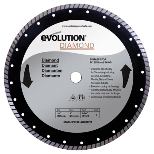 Evolution 355mm Diamond Blade