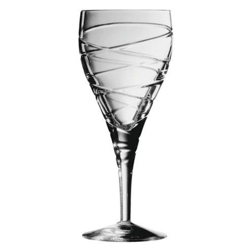 Royal Doulton Harmony Cut Set of 4 220ml Crystal Wine Glasses