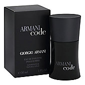 Giorgio Armani Code For Men EDT Spray 30ml