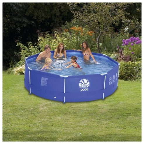 Buy tesco 12ft metal frame pool with pump from our for Uniform swimming pool spa and hot tub code