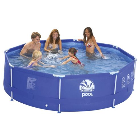 12ft metal frame pool with pump tesco direct hotukdeals