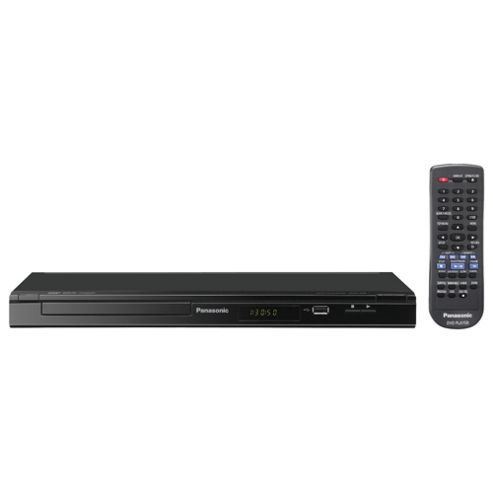 Panasonic DVD-S48EB-K DVD Player Black