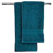 Finest Pair Of Hand Towels Teal