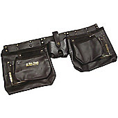 Am-tech 12 Pocket Heavy Duty Leather Tool Pouch N1045