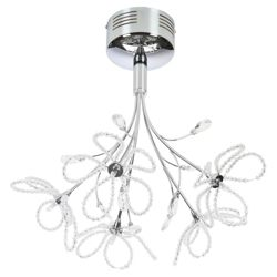Signa Beaded Flower Ceiling Fitting