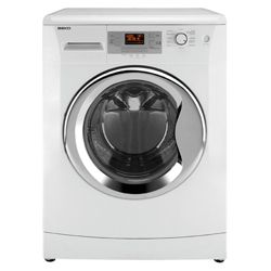 Beko WMB91242LC Washing Machine, 9kg Wash Load, 1200 RPM Spin, A++ Energy Rating. White