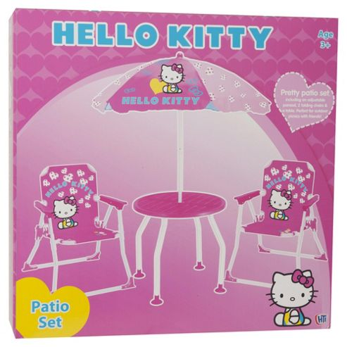 Hello Kitty Patio Set