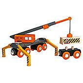 Brio Classic Accessory Mega Crane, wooden toy