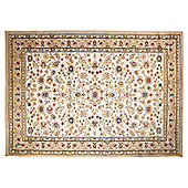 Tesco Rugs Luxor Borders Rug 120X170Cm Cream
