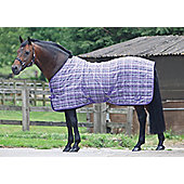 Masta PP Check Light Stable Rug Purple Check 7ft